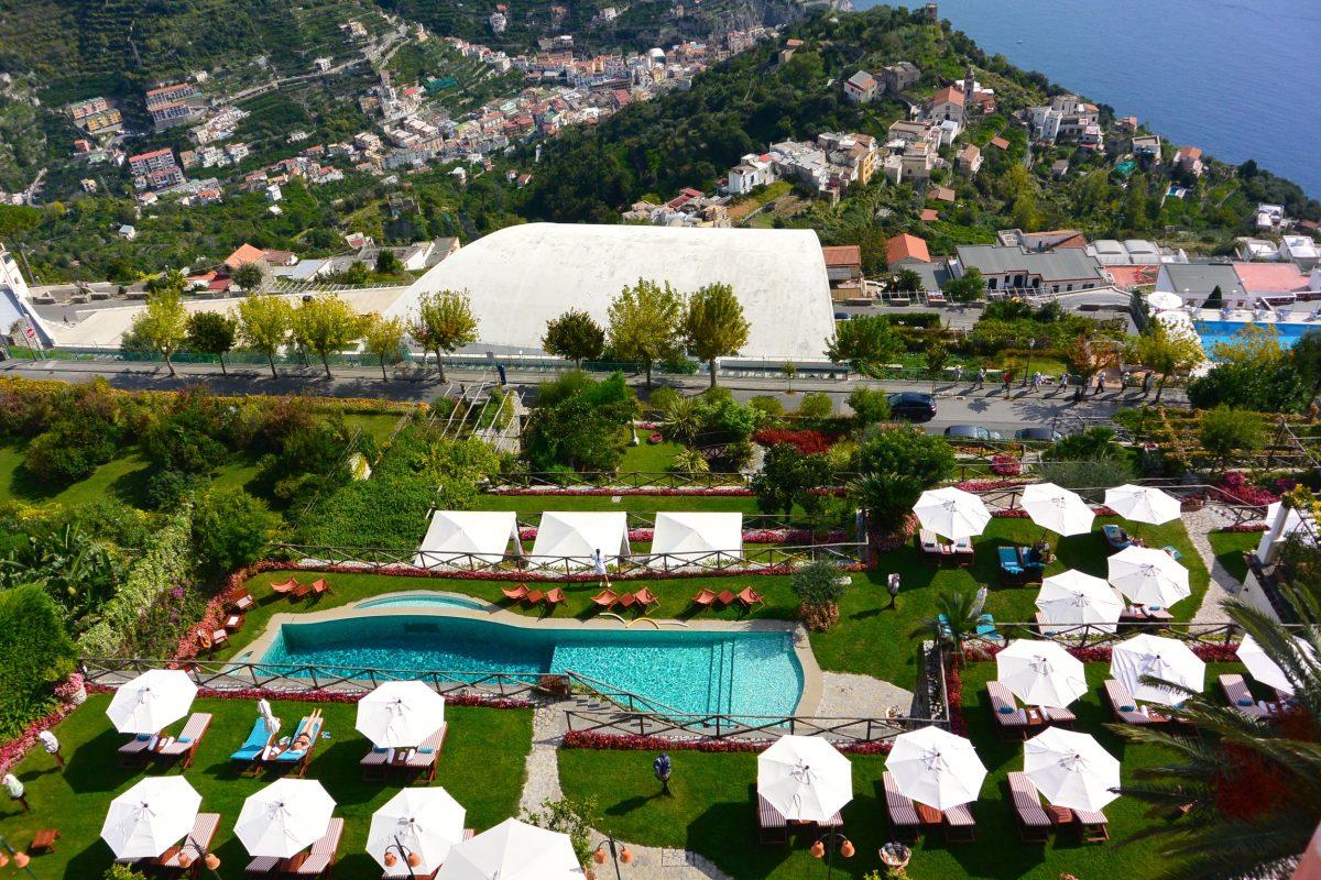 Luxury In Ravello Palazzo Avino Hotel Review Bon Traveler