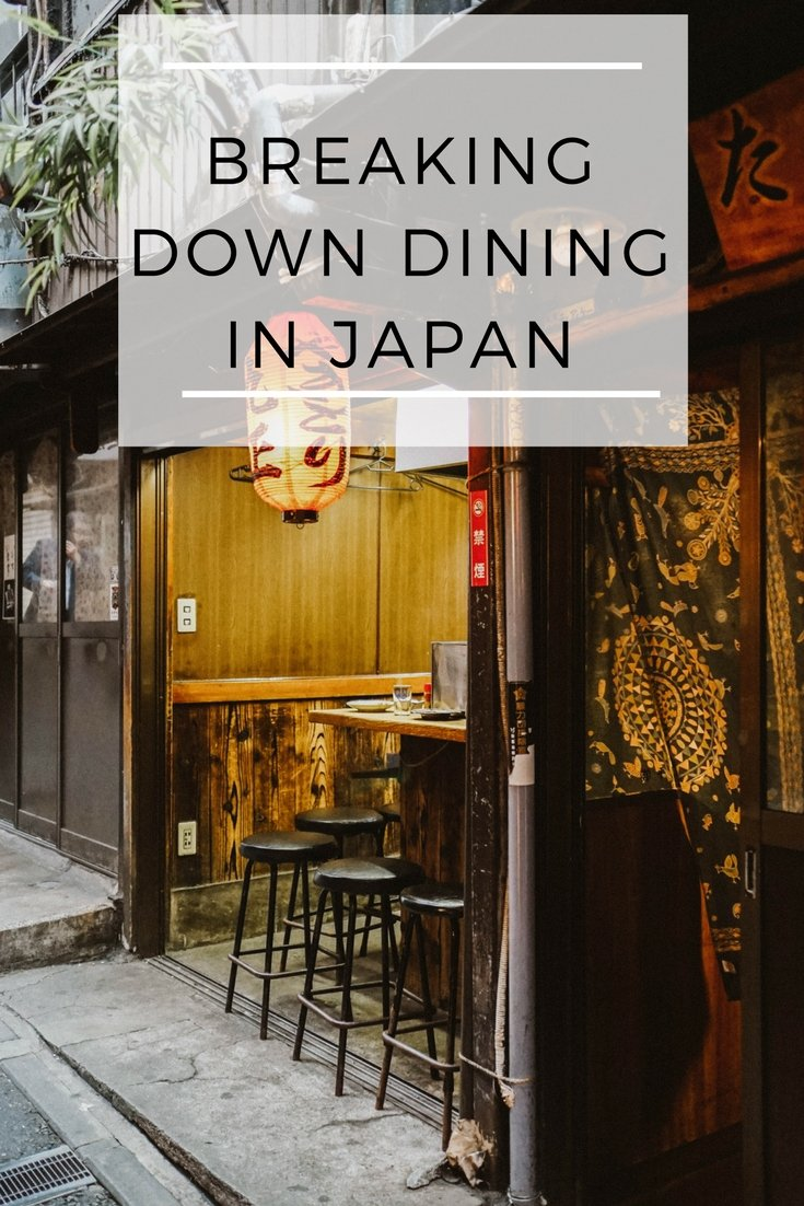 Breaking Down Dining in Japan