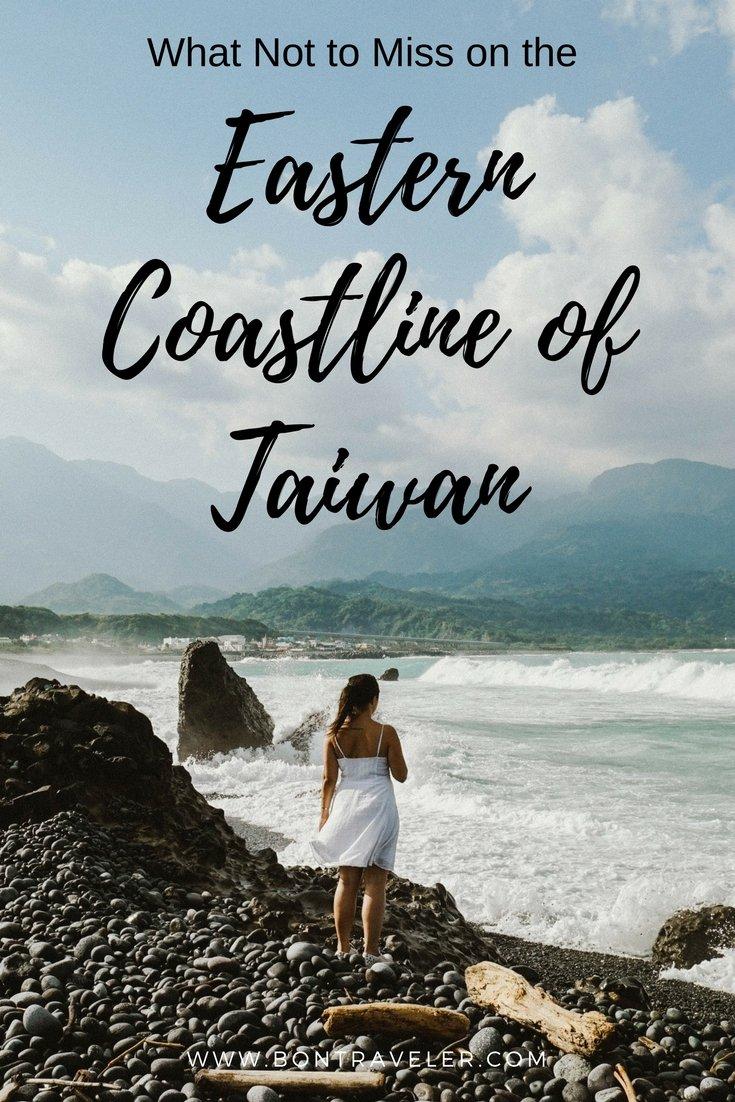 Eastern Coastline of Taiwan