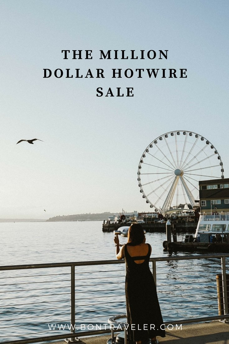 The One Million Dollar Hotwire Sale