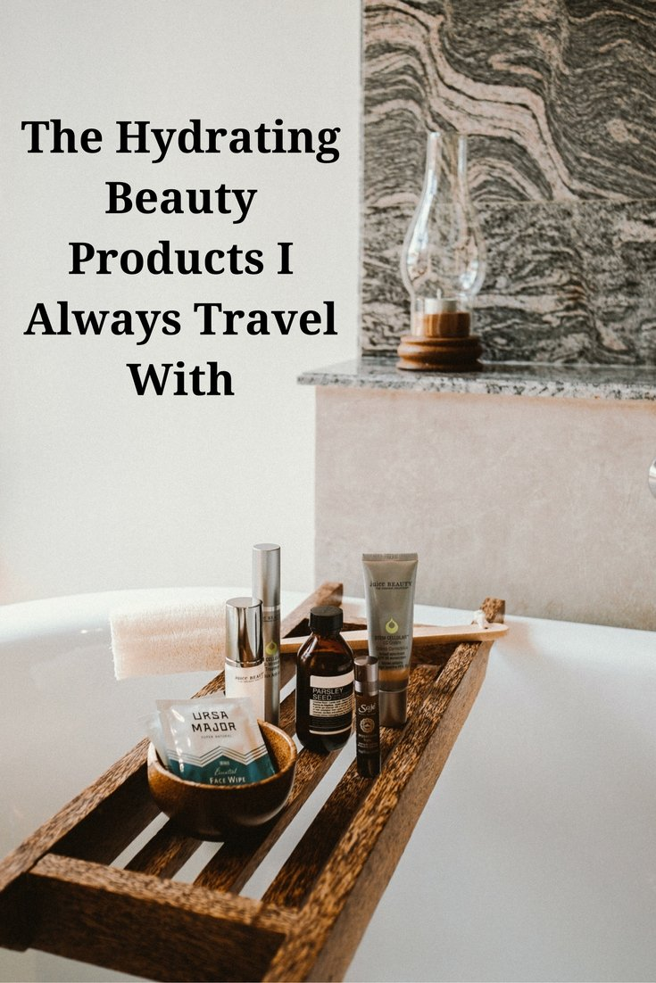 The Hydrating Beauty Products I Always Travel With