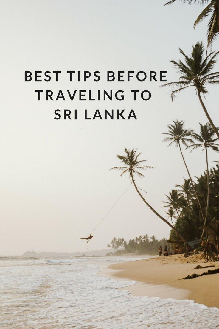 Best Tips Before Traveling to Sri Lanka
