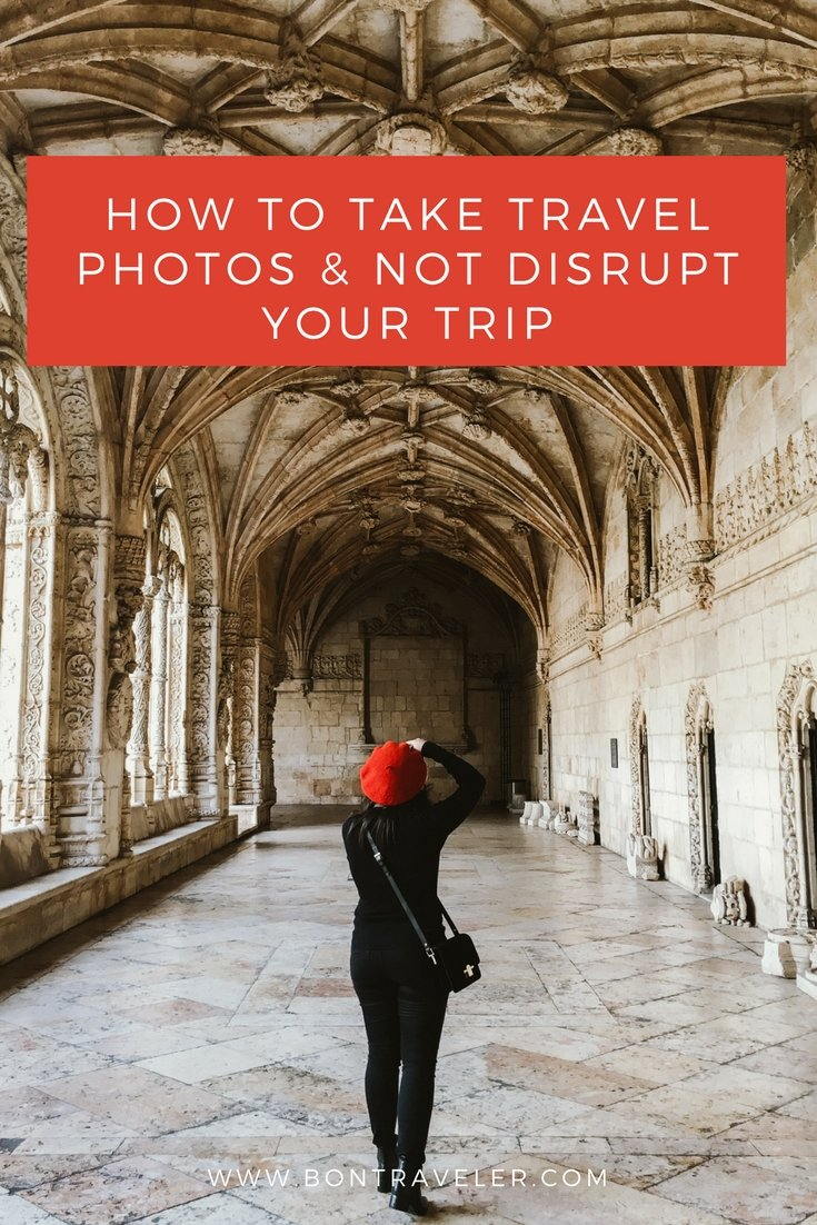 How to Take Travel Photos and Not Disrupt Your Trip