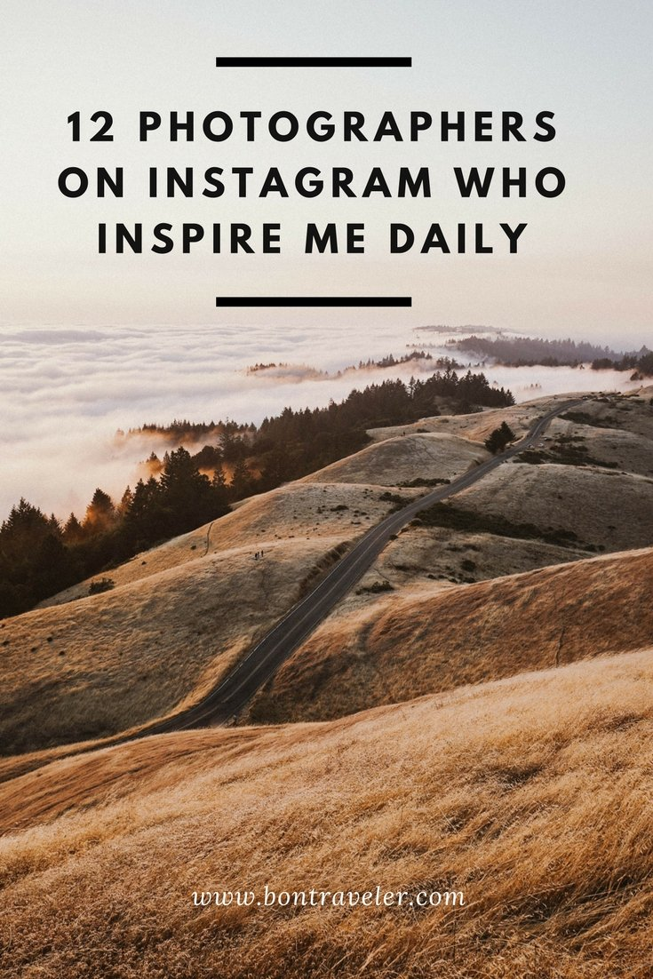 12 Photographers on Instagram Who Inspire Me Daily