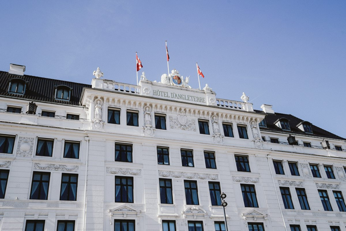Staying at the Hotel d'Angleterre in Copenhagen