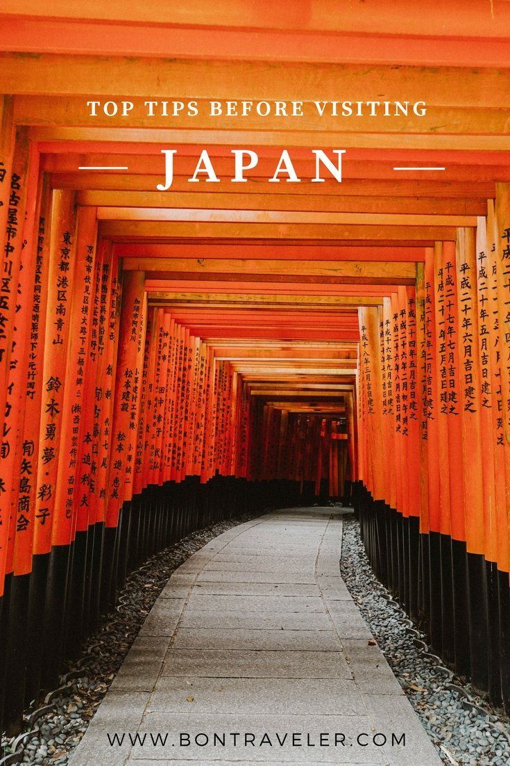Top Tips Before Visiting Japan