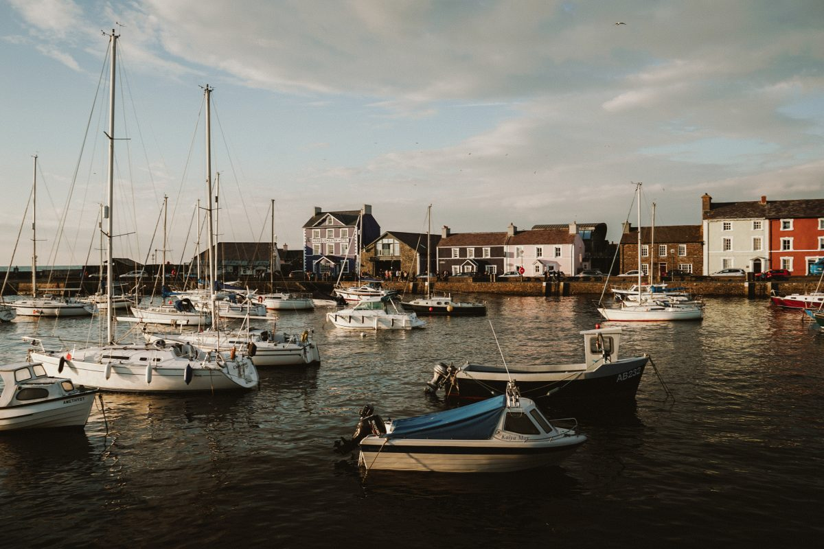 A Quick Guide to Aberaeron, Wales