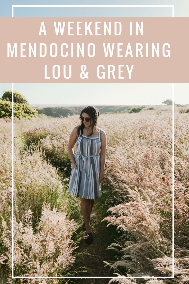 A Weekend in Mendocino With Lou & Grey in Tow