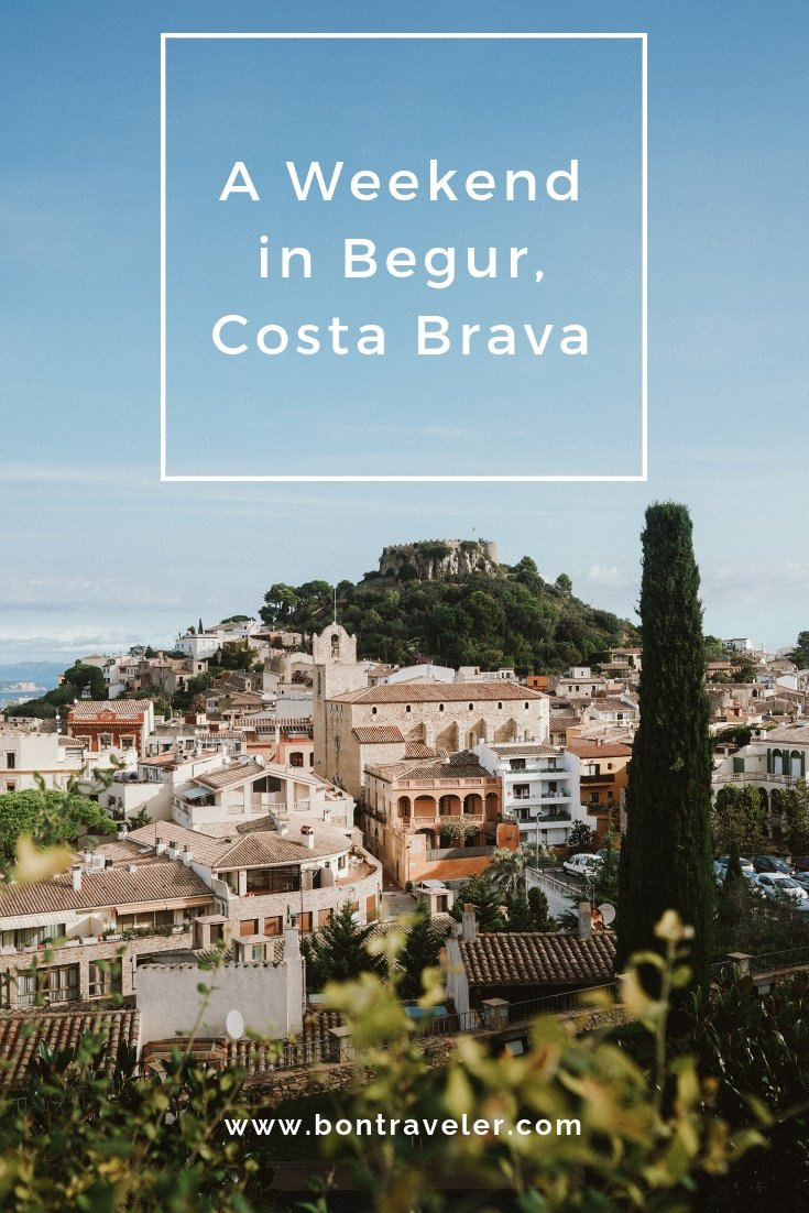 A Weekend in Begur, Costa Brava