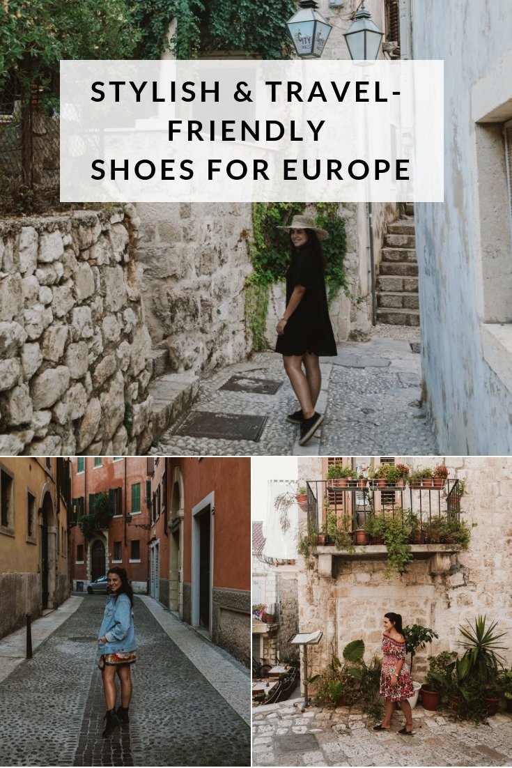 Stylish and Travel-friendly Shoes for Europe
