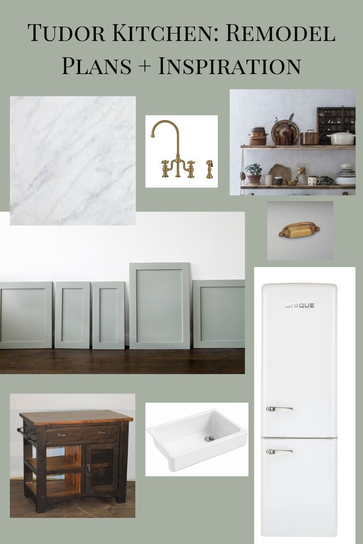 Our Tudor Kitchen: Remodel Plans + Inspiration