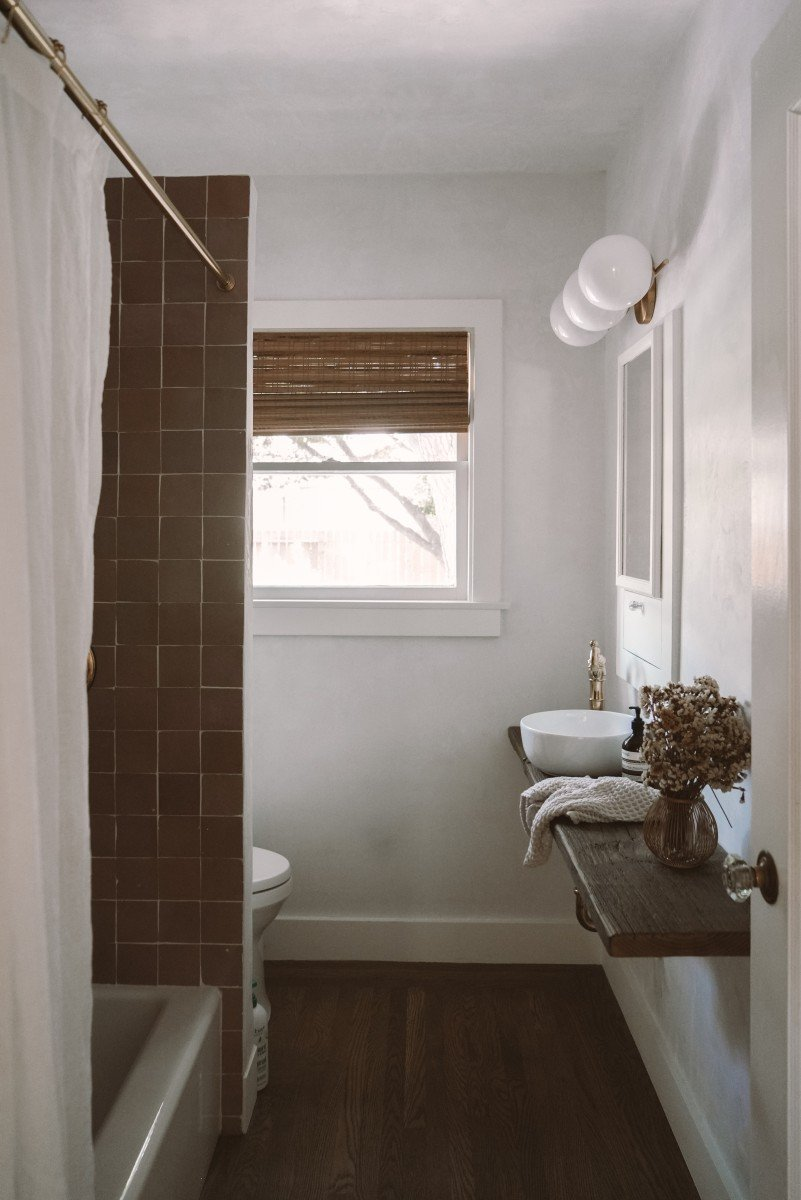 Our Bathroom Reveal: Before and After