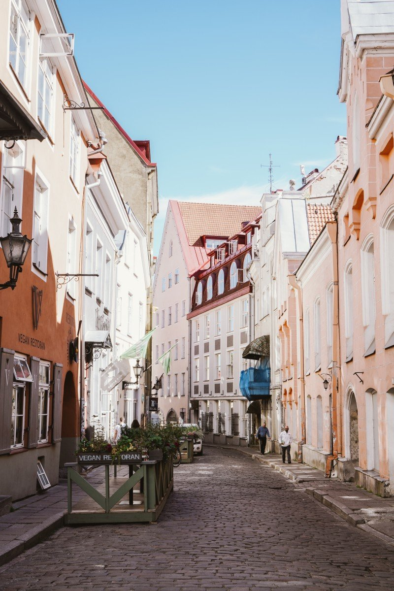 Find things to do in Tallinn, Estonia like walk the medieval city.