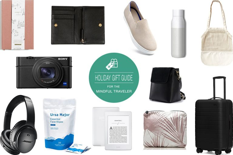 A Holiday Gift Guide for the Mindful Traveler