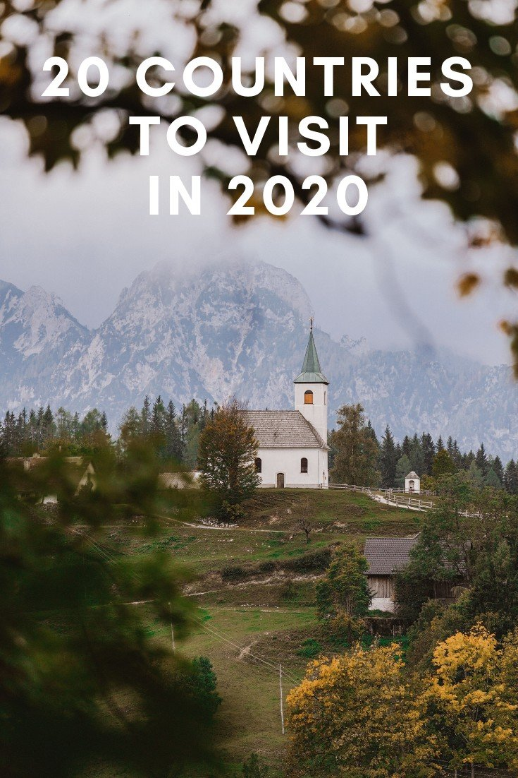20 Countries to Visit in 2020