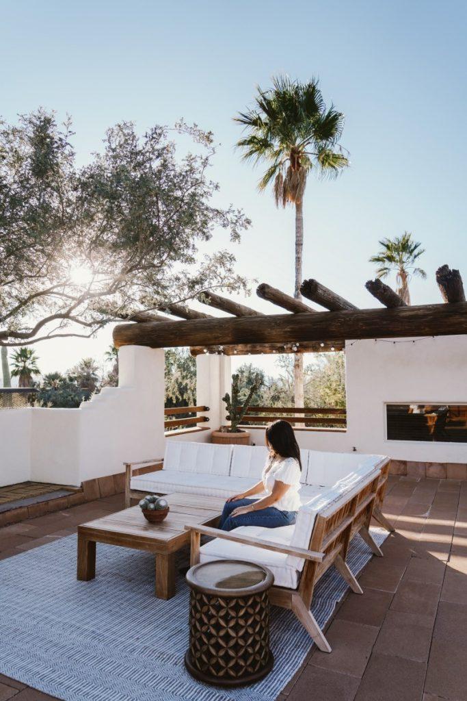 Staying at Posada by The Joshua Tree House in Tucson, Arizona