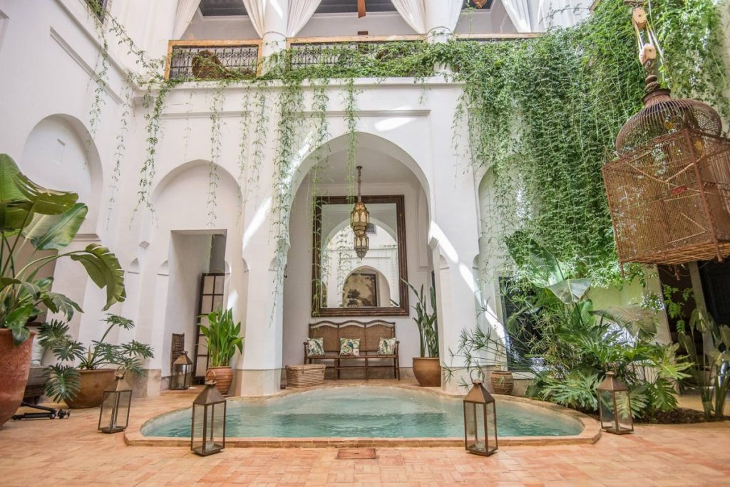 The Most Beautiful Riad Airbnbs in Marrakech, Morocco