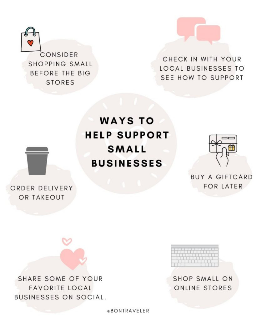 How to Support Small Businesses and Creatives