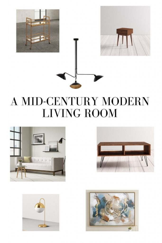 Mexico City Inspired: A Mid-Century Modern Living Room