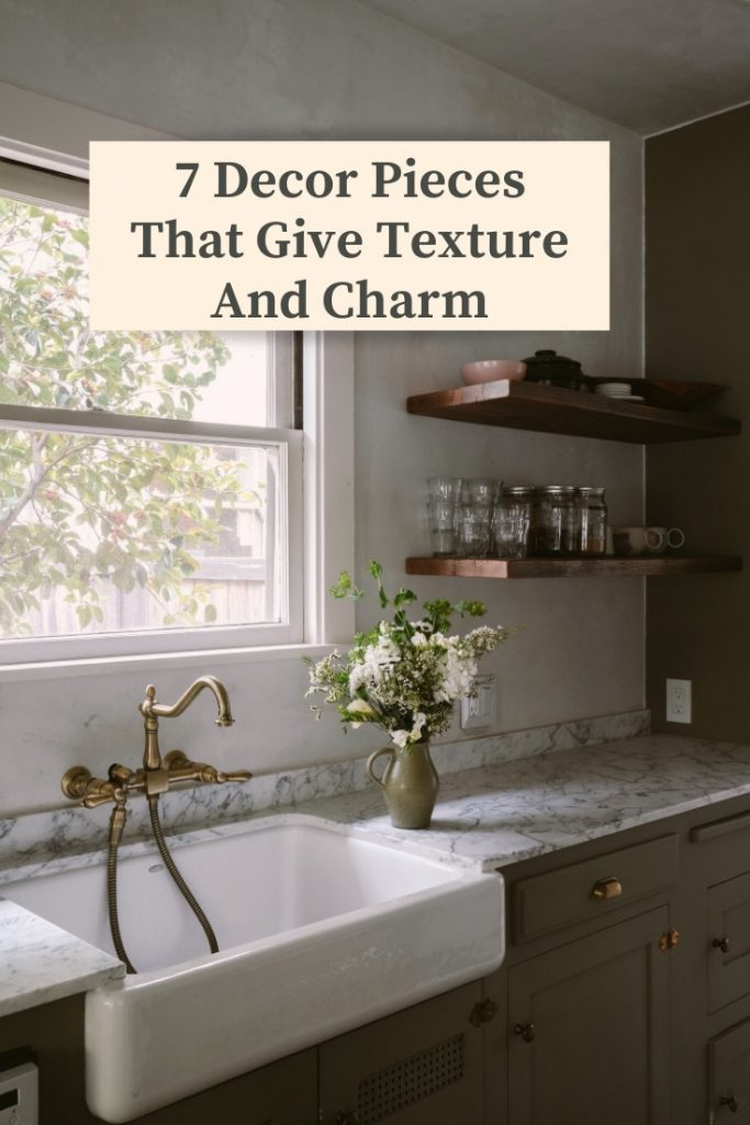 7 Decor Pieces That Give Texture And Charm