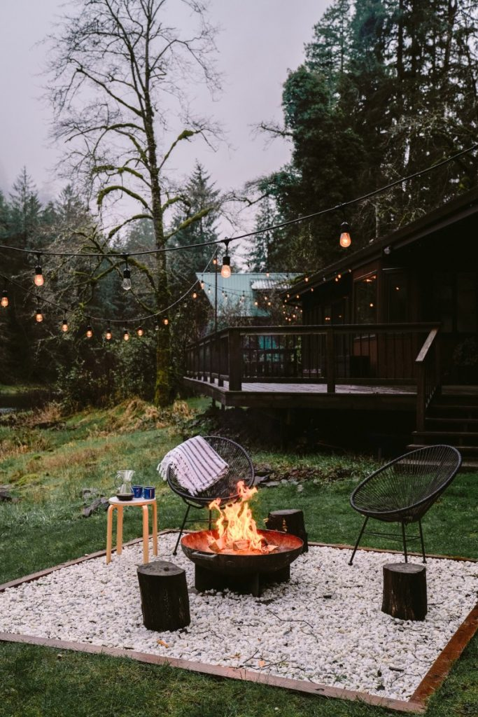 Backyard Inspiration: A Cozy and Refined Patio