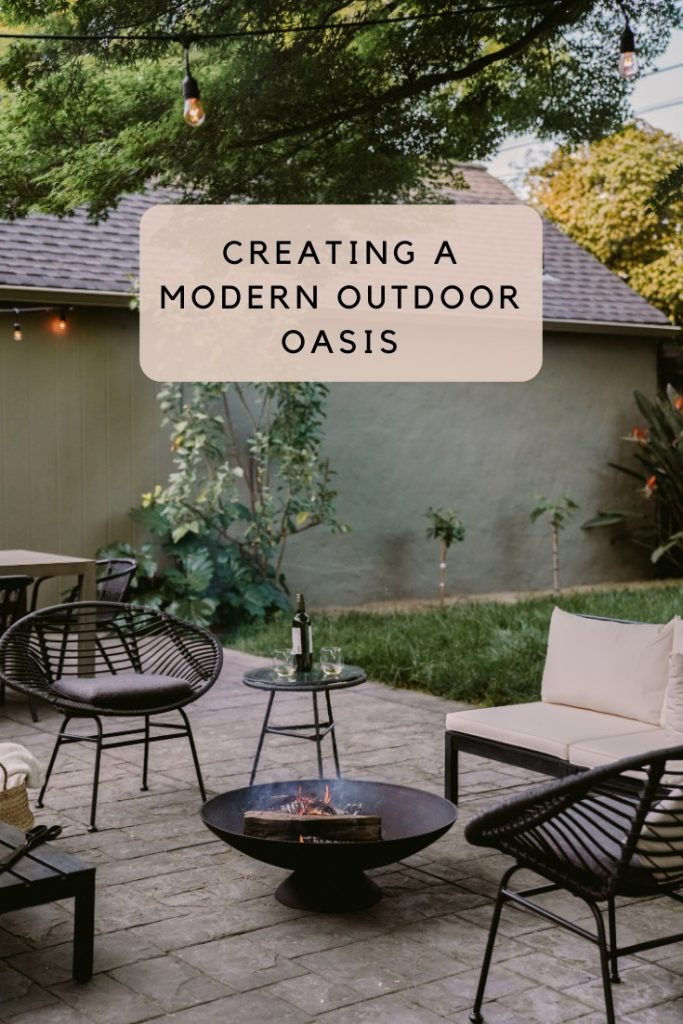 Turning Our Back Patio into a Modern Outdoor Oasis