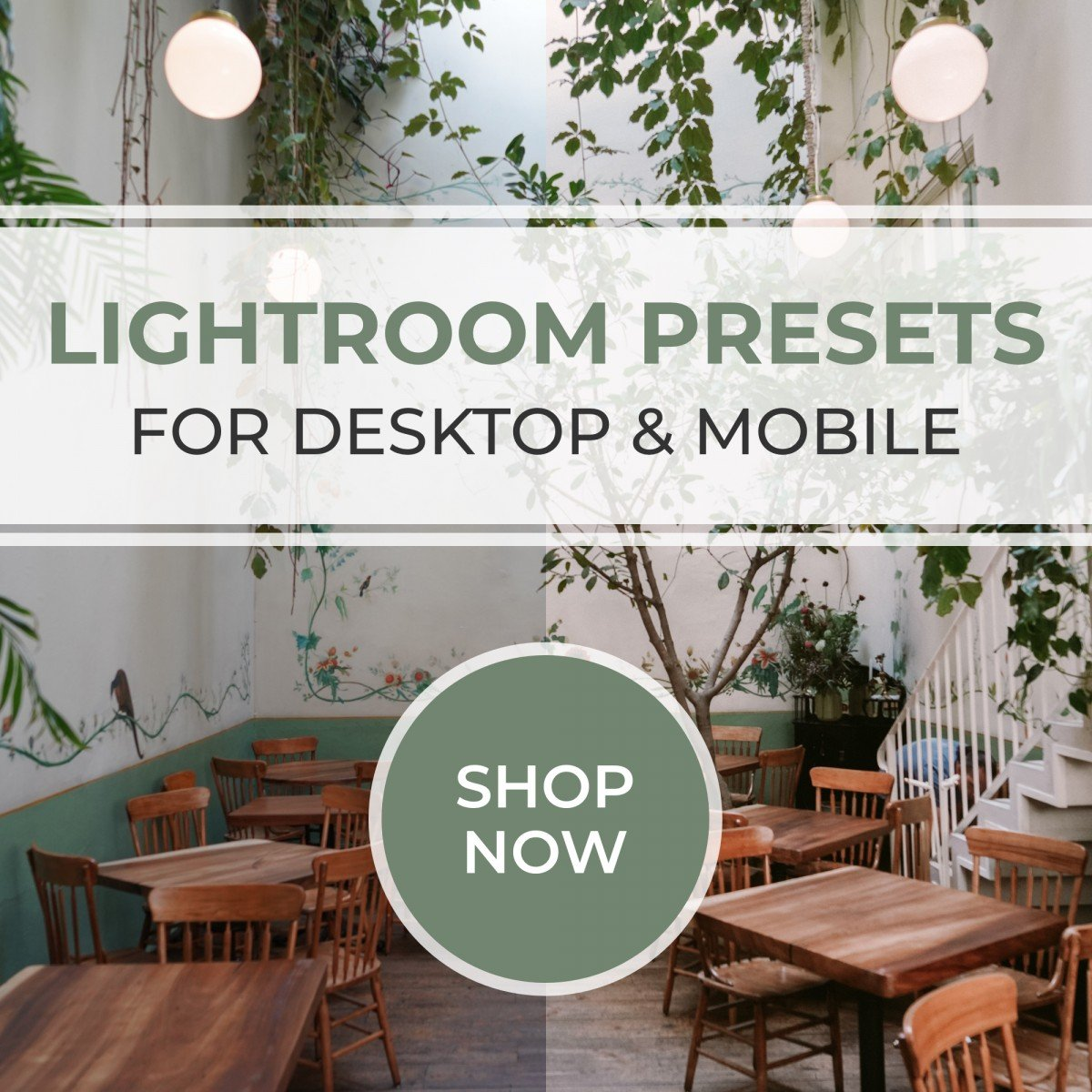 Shop Lightroom Presets for Desktop and Mobile