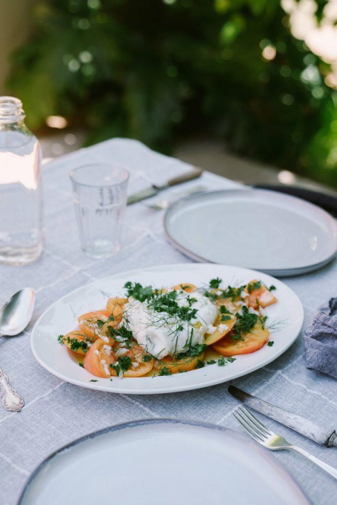 French Tomato Salad Recipe
