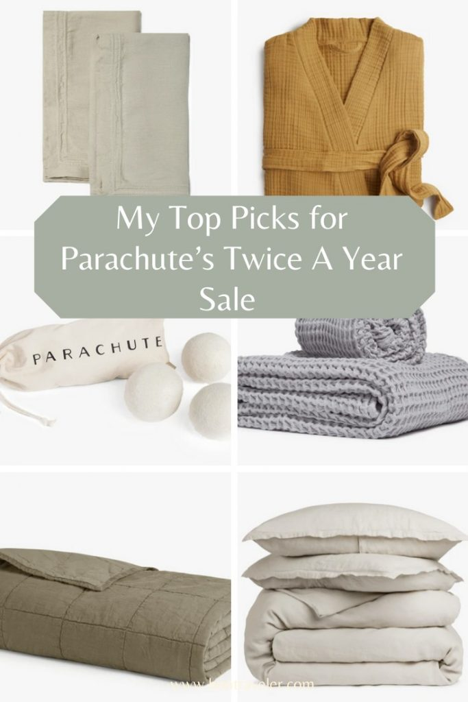 My Top Picks for Parachute's Twice A Year Sale Happening Now