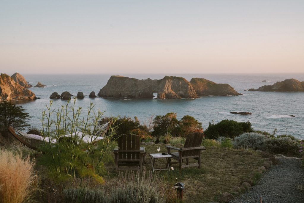 A Secluded Retreat in Elk, California at The Harbor House Inn