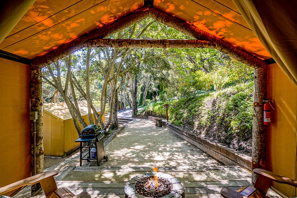 Unique Glamping Spots in California