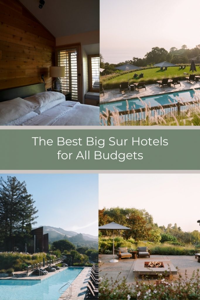 The Best Big Sur Hotels for All Budgets