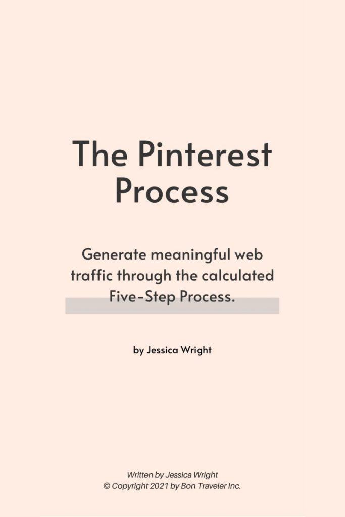 The Pinterest Process Cover
