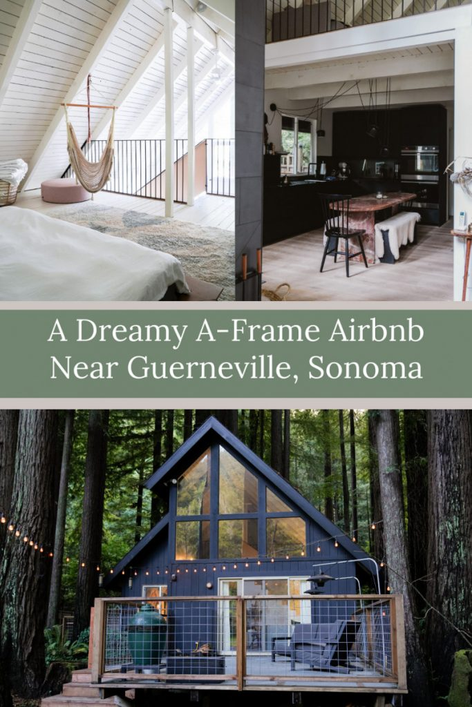 Sonoma Redwoods Getaway: The Caz Cabin Airbnb